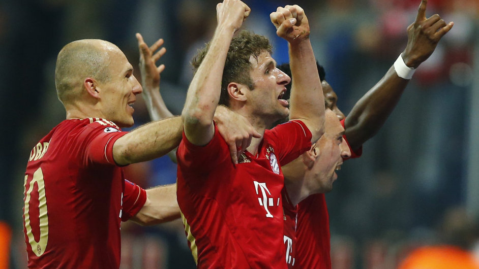 Fotbalisté Bayernu Mnichov