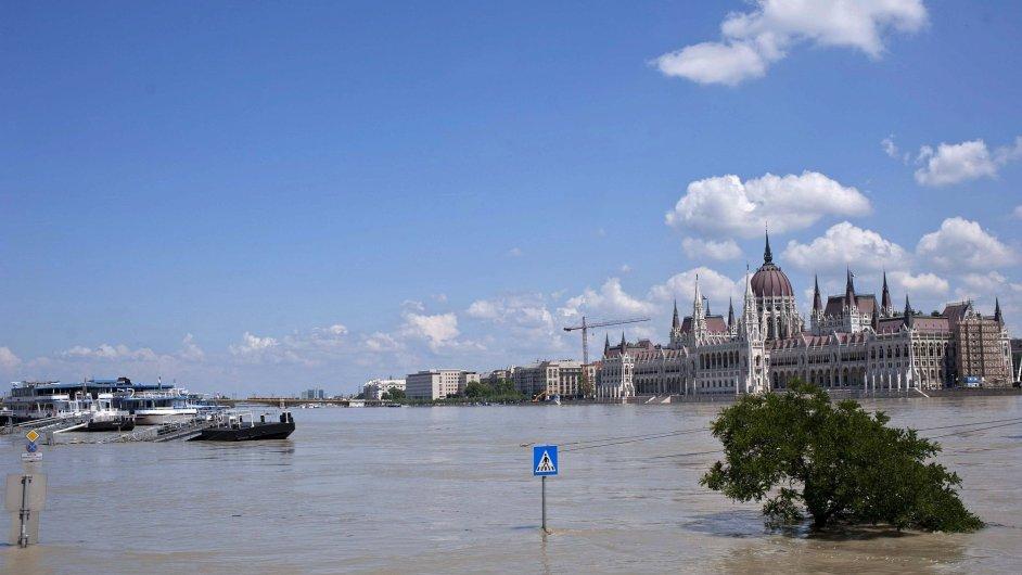 Maďarsko, Budapešť, povodně
