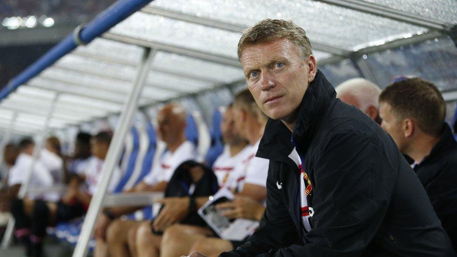 David Moyes na lavičce United