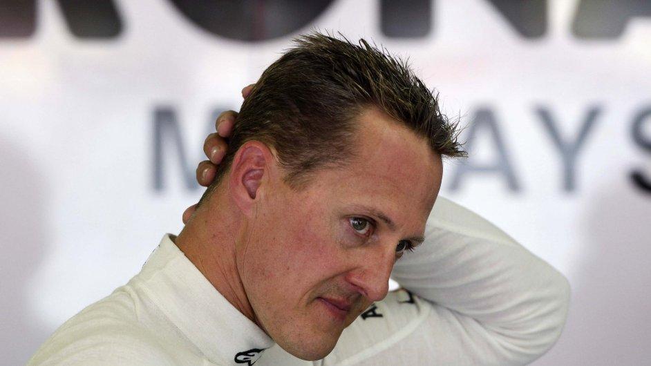 Bývalý pilot formule 1 Michael Schumacher.