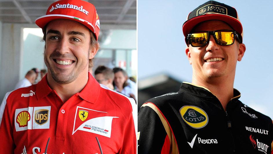Fernando Alonso a Kimi Räikkönen vystartují do nové sezony F1 společně v týmu Ferrari.