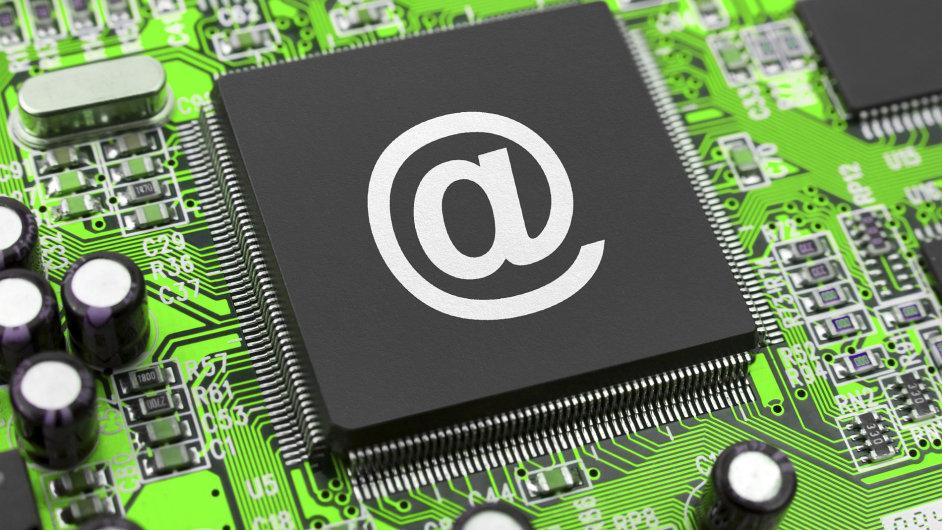 e-mail, ilustrační foto