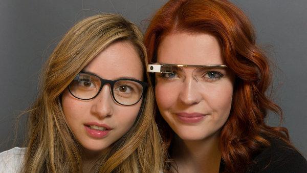 Google Glass s rámečky Titanium