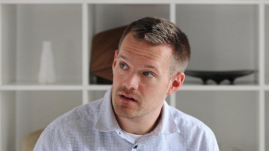 Martin Žampach, průmyslový designer a art director v be3D.cz.