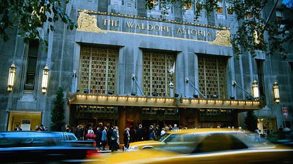 Proslulý newyorský hotel Waldorf Astoria mění majitele.