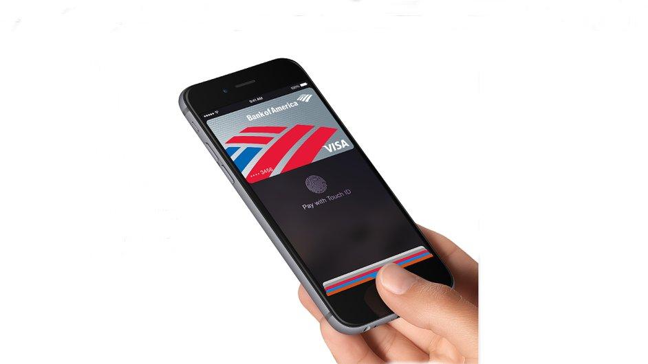 Aplikace Apple Pay na iPhonu 6