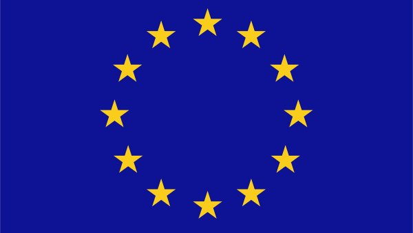 Flat European Union Flag