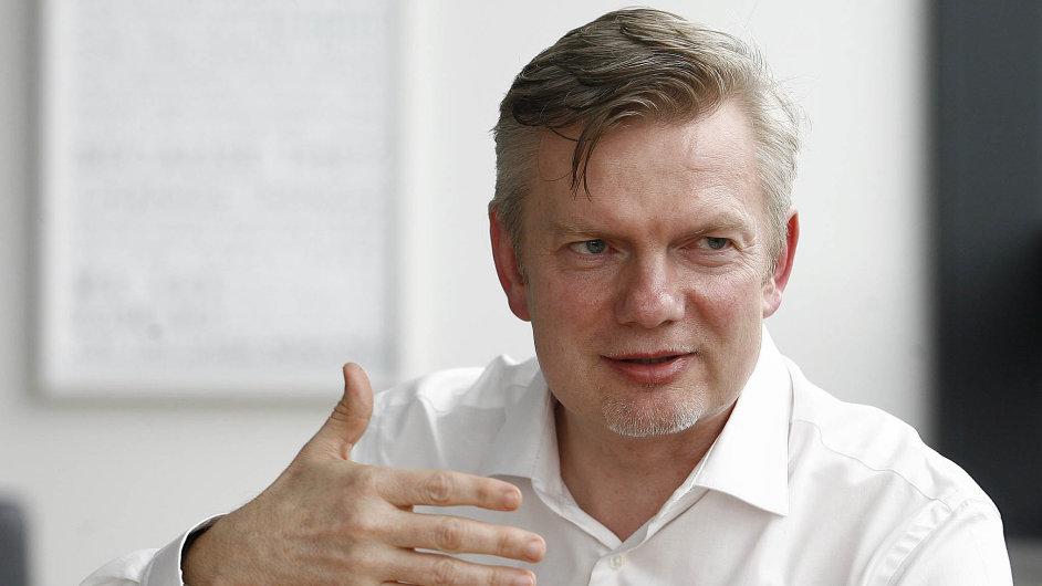 Tomáš Budník, šéf O2