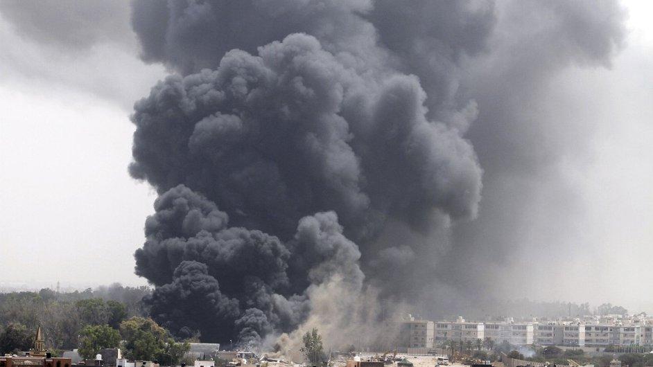 Výbuch, ilustrační foto.