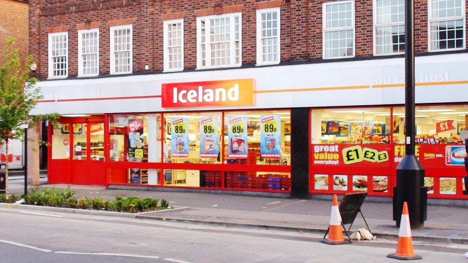 Britský řetězec Iceland chce v ČR otvírat další prodejny - Ilustrační foto.