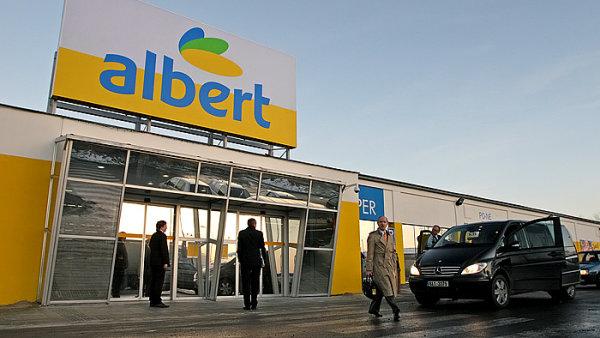 Ahold, který na českém trhu provozuje obchody Albert, se spojí s belgickou společností Delhaize – ilustrační foto.