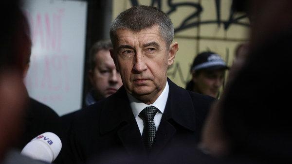 Ministr financí Andrej Babiš je vlastníkem skupiny Agrofert.
