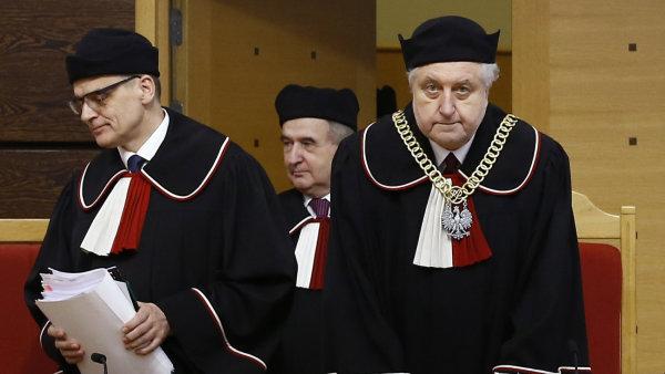 Soudci polsk�ho �stavn�ho soudu pova�uj� novelu reguluj�c� jejich ��ad za proti�stavn�.