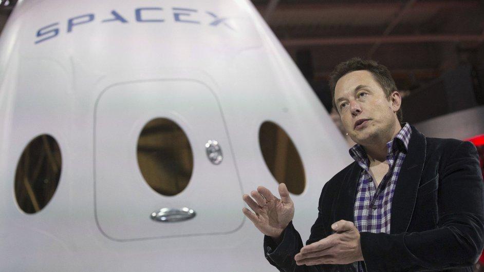 Kosmická loď Dragon V2 by měla být hlavním nástrojem společnosti SpaceX ke kolonizaci Marsu.