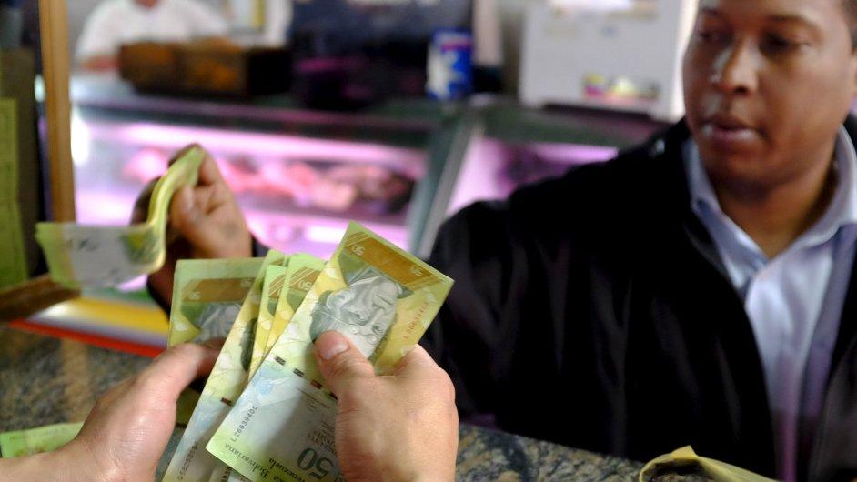 Venezuela - peníze