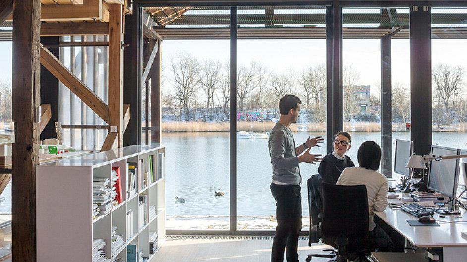 Kanceláře architektonického studia 3XN v Kodani (návrh od studia 3XN)