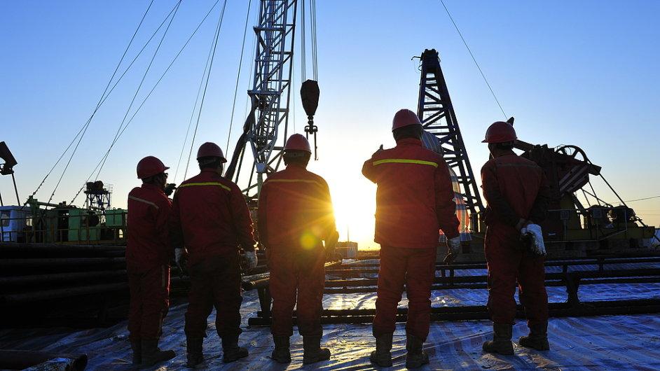 Čína, ropa, zemní plyn, břidlice