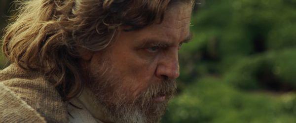 Snímek z filmu Star Wars: Episode VIII.