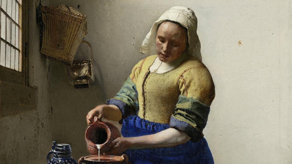 Jan Vermeer: Mlékařka, 1658 až 1660
