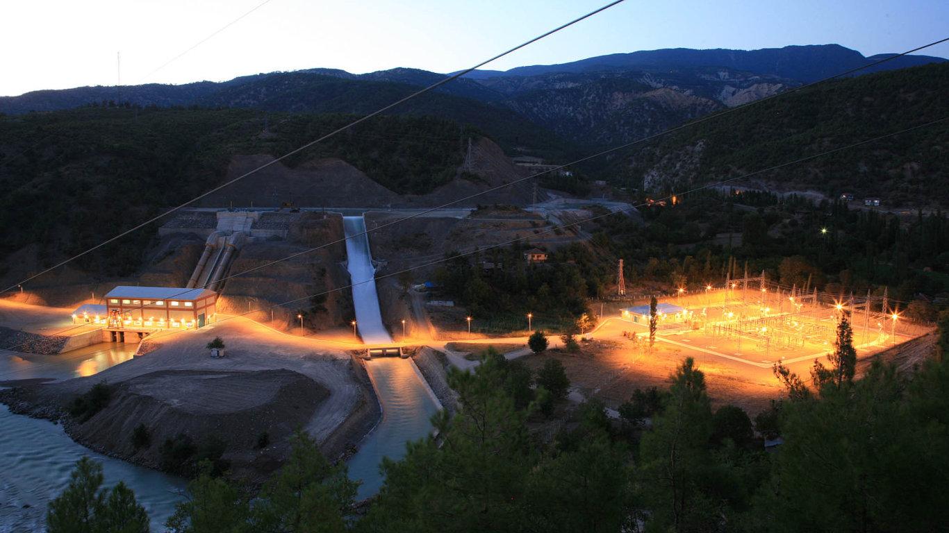 Společnost Energo-Pro v Turecku provozuje pět vodních elektráren. Na snímku vodní dílo Resadiye.
