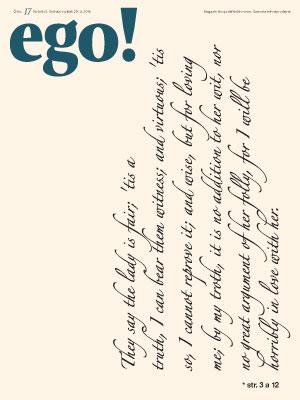 ego! 29. 4. 2016