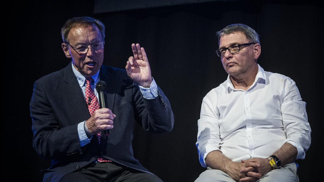 Andrej Babiš z hnutí ANO debatě naslouchal, příležitost se vyjádřit ale nedostal.