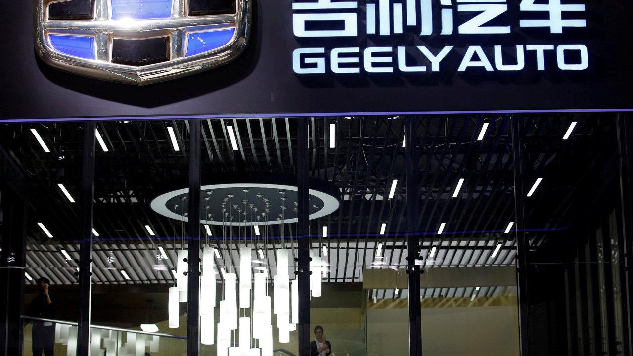 Logo čínské automobilky Geely
