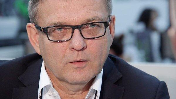 Volební lídr sociálních demokratů Lubomír Zaorálek.