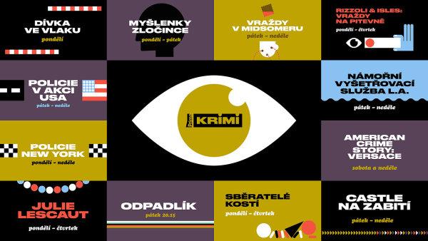 Vizuály nové stanice Prima Krimi