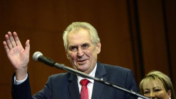 Zeman svoji prezidentskou kampaň vyčíslil na 22,7 milionu korun.