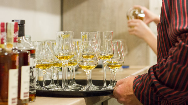 Degustace whisky Trebitsch.