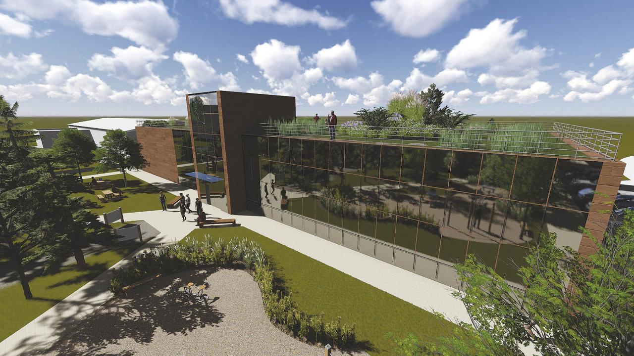 High-tech pavilon Fakulty lesnické adřevařské má Českou zemědělskou univerzitu přijít na 80 milionů korun.