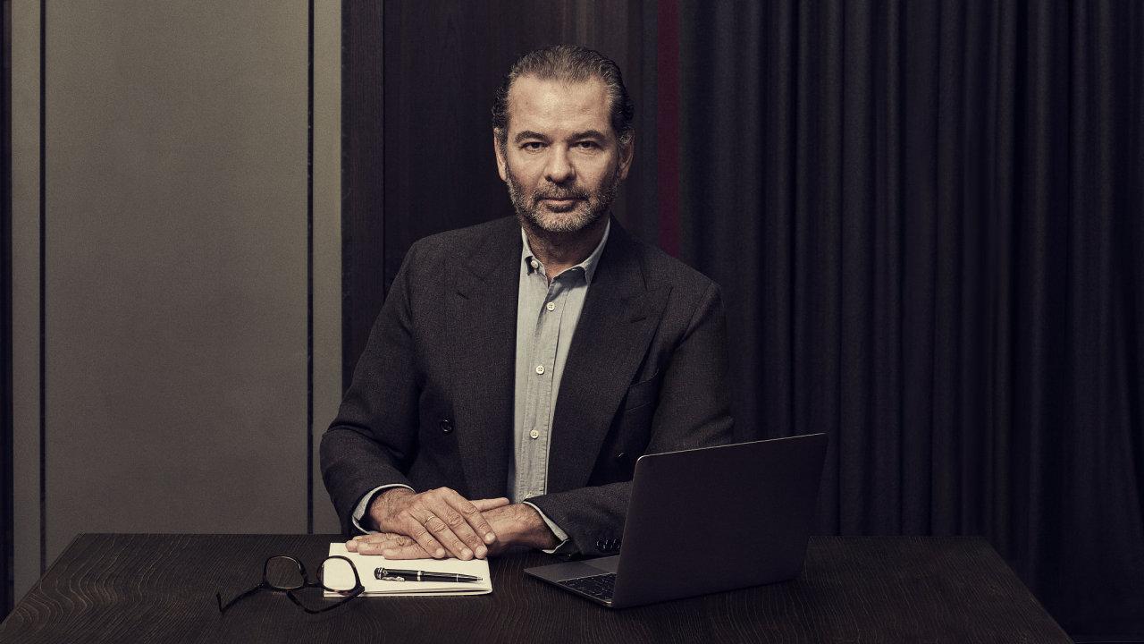Remo Ruffini, šéf společnosti Moncler.