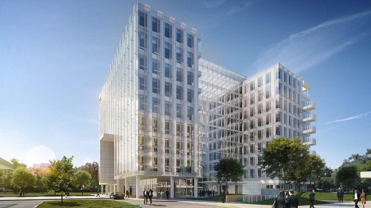 Developer Skanska Property oznámil zahájení výstavby administrativního centra Parkview v Praze 4 poblíž nákupního centra Arkády Pankrác.