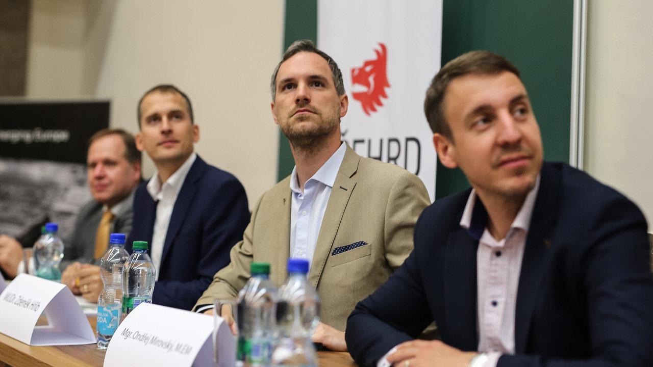 Debata kandidátů na post primátora Prahy na Právnické fakultě.