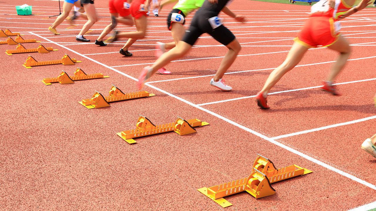 Úspěch je v práci individuálních sportovců založen na rozdílech ve výkonech měřených na milimetry nebo setiny vteřiny.