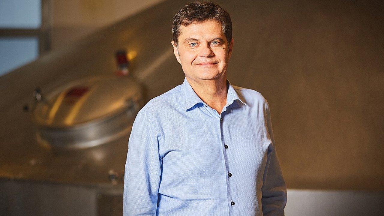 Milan Jeřábek, nový ředitel výroby a logistiky pro ČR a SR v Pivovarech Staropramen