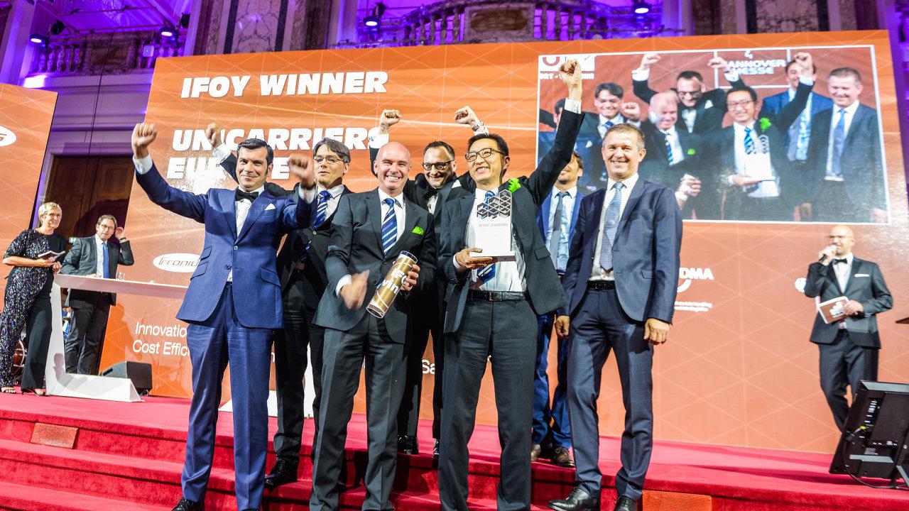Slavnostní předávání ocenění vítězům soutěže IFOY Award 2019.