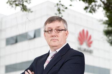 John Suffolk, viceprezident firmy Huawei a šéf jejího oddělení pro kybernetickou bezpečnost.