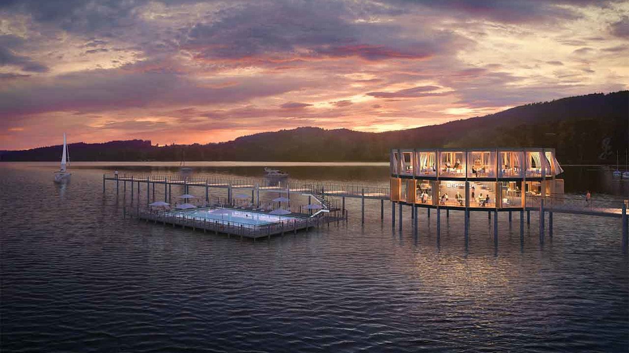 Developerská společnost Realactiva nakonci června zahájila vLipně nad Vltavou naŠumavě výstavbu ambiciózního avestřední Evropě ojedinělého rekreačního areálu Molo Lipno Resort.