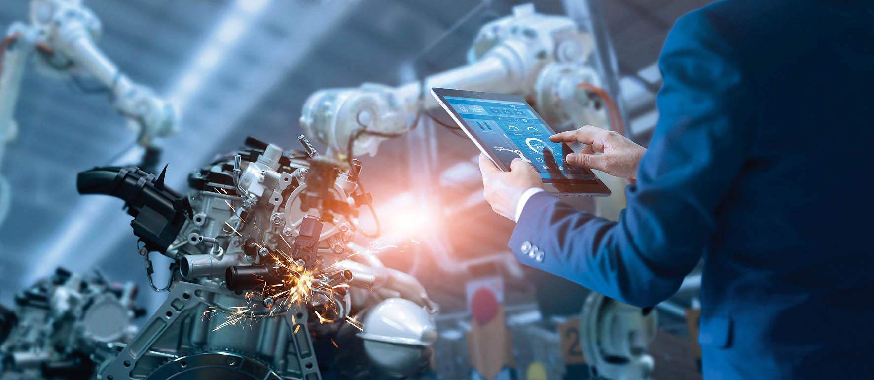 Technologie Průmyslu 4.0 vČesku vnejvyšší míře adaptuje automobilový průmysl.