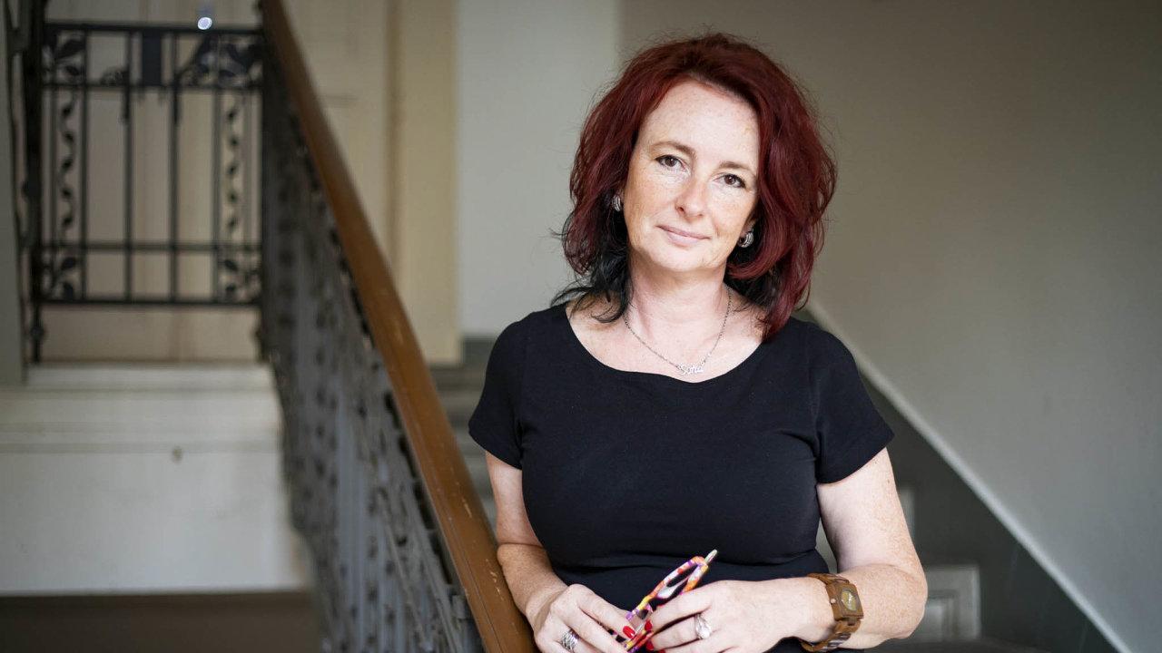 Ředitelka Linky bezpečí Soňa Petrášková