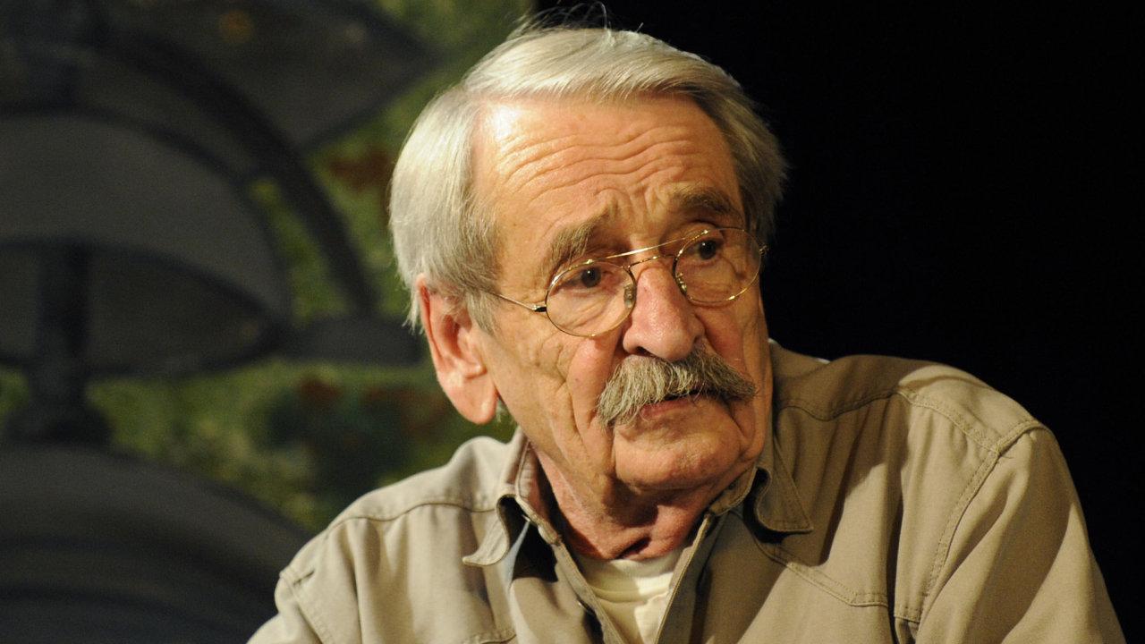 Autor Jaroslav Weigel pokřtil 10. června v Praze knihu Jára Cimrman – Génius.