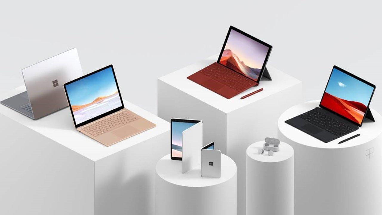 Microsoft představil zařízení Surface Neo a
