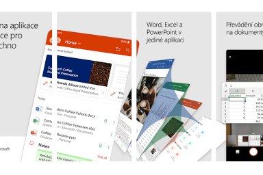 Microsoft na konferenci Ignite představil novou aplikaci Microsoft Office pro telefony s operačním systémem Android i iOS od Applu.