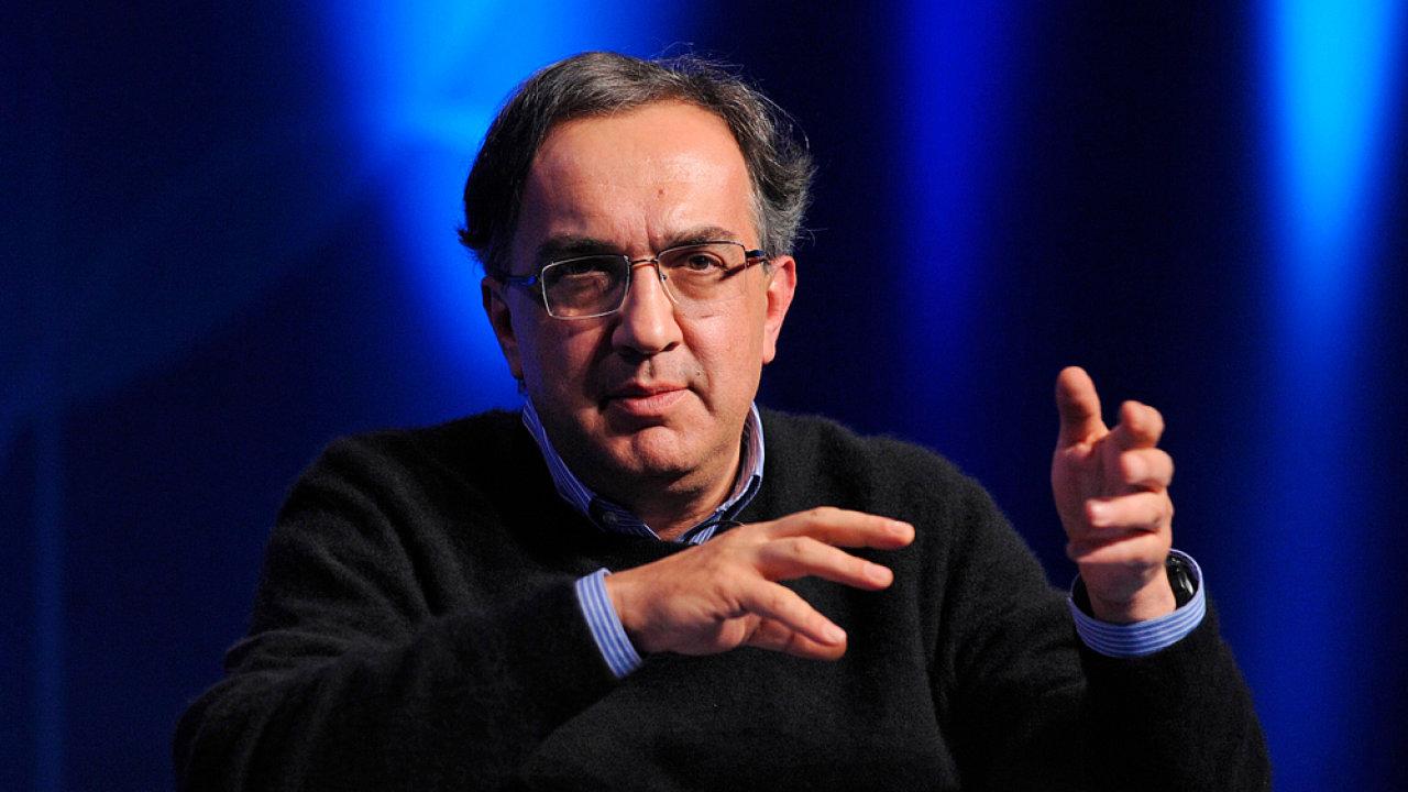 Loni zesnulý ředitel automobilky Fiat Chrysler Sergio Marchionne.