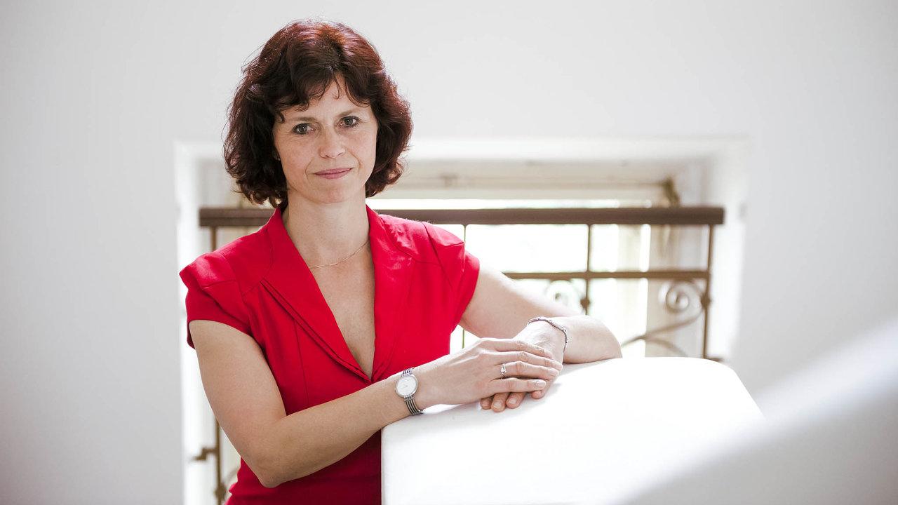 Daniela Zemanová, šéfka Soudcovské unie.