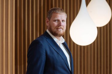 Prezident společnosti Skanska Central Europe Michal Jurka.