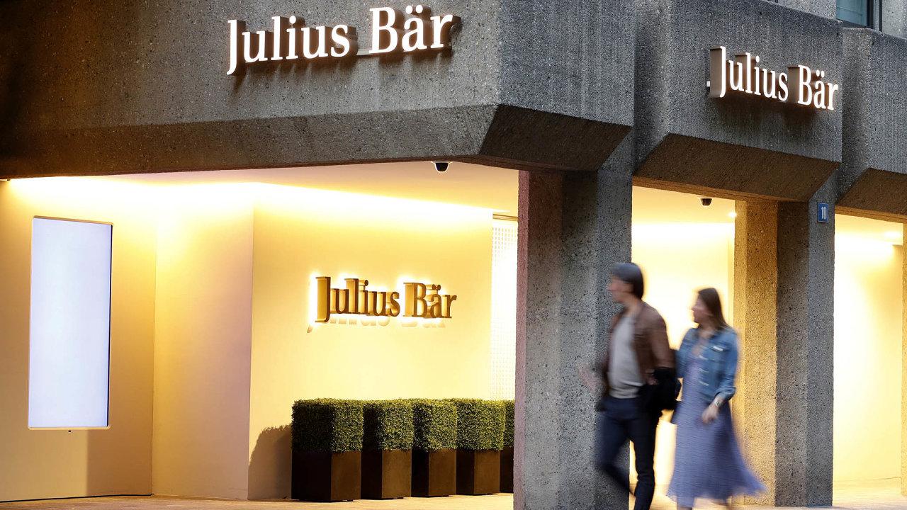 Švýcarský bankovní dům Julius Bär.