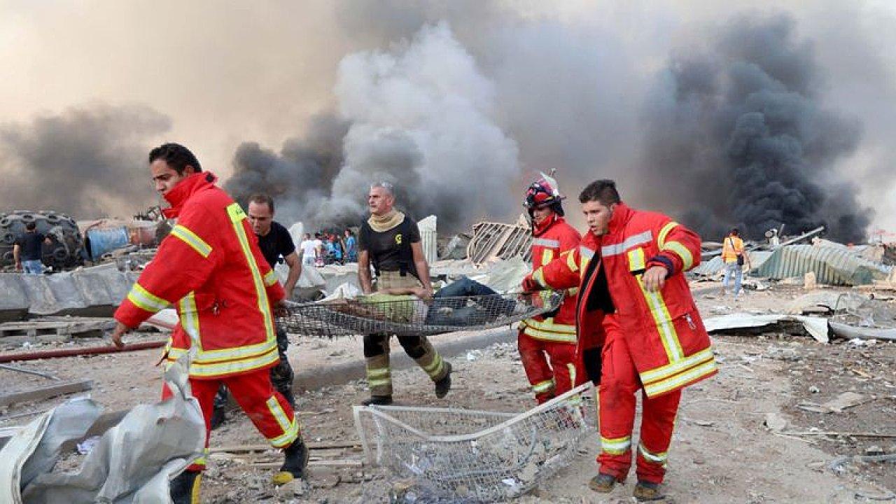 Zůstat v ateliéru déle, výbuch by mě zabil. Je to apokalypsa, líčí z Bejrútu Matragi.